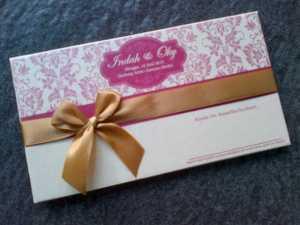 undangan nikah surabaya | hardcover pita manis