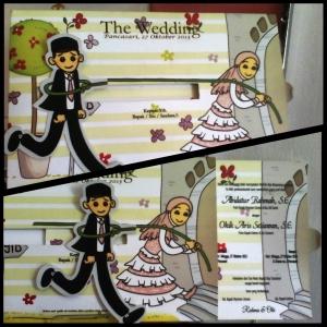 undangan pernikahan 3d di daerah sampang